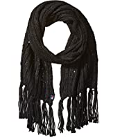 Tommy Hilfiger - Chunky Beaded Border Scarf