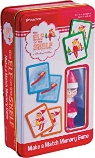 Pressman Elf on The Shelf Make a Match Game in Tin