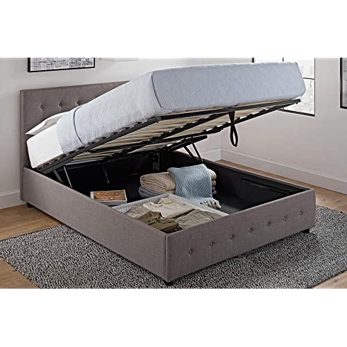 Bed With Storage Underneath Amazon Com