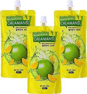 100% Real Calamansi Extract 6.8oz (200ml) (3 x 6.8oz(200ml))