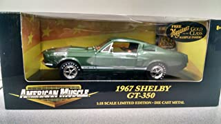 Ertl American Muscle 36421 1967 Shelby GT-350 1:18 Scale Diecast in Green