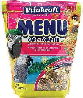 Vitakraft Menu Vitamin Fortified Parrot Food, 5 Lb.
