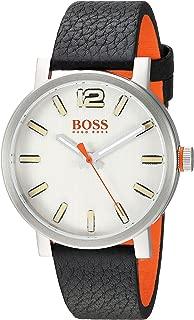 BOSS Orange Men's 1550035 Bilbao Analog Display Quartz Black Watch