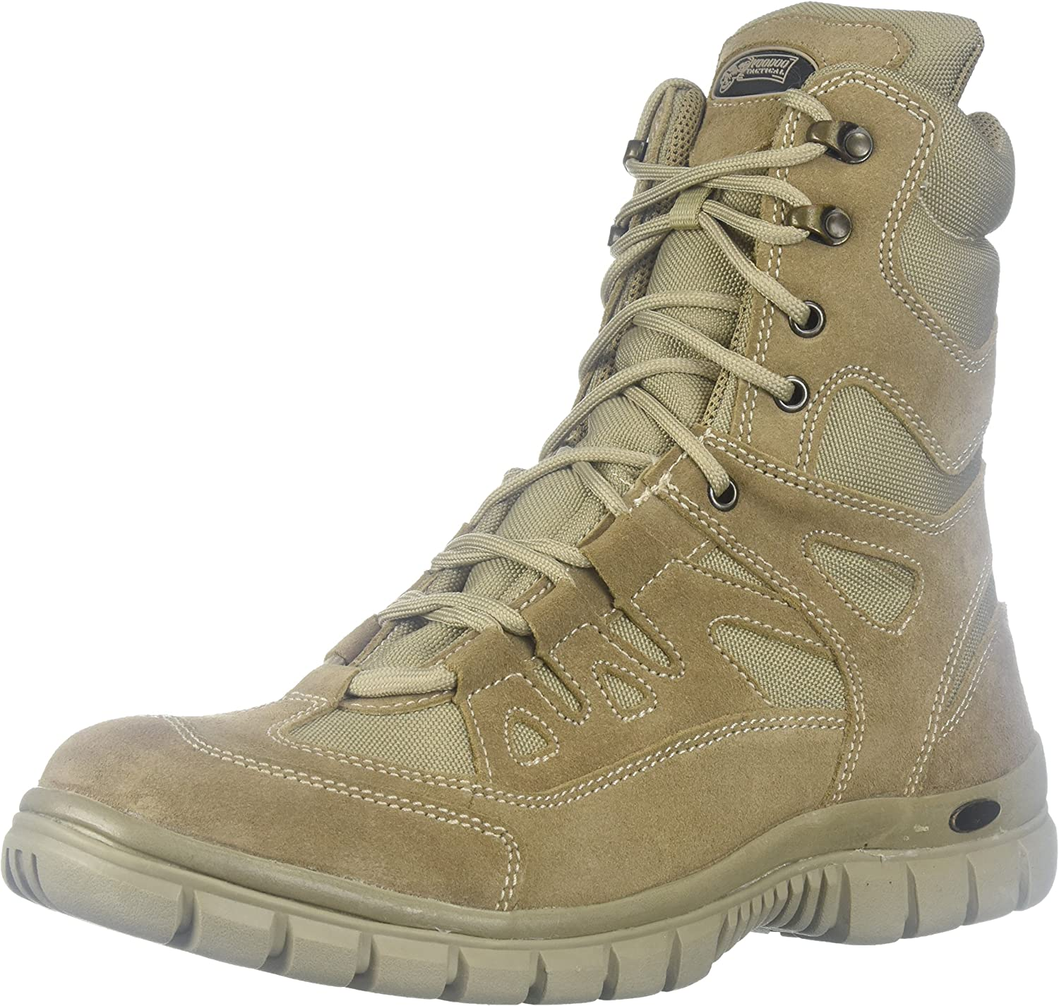 Voodoo Tactical 04-8479 9  Side Zip High Speed Tactical Boot, Desert Tan