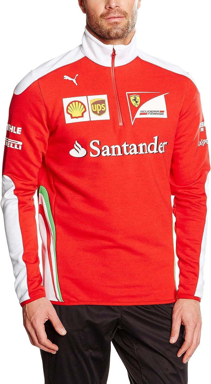 Puma SF Scuderia Scuderia Scuderia Ferrari Formel 1 Team Half Zip Fleece Sweatshirt B01CGBZA9Q  Starker Wert a17a04