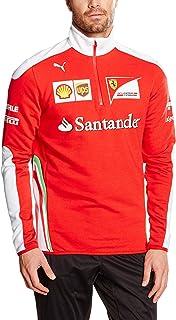 Ferrari Scuderia Team Half Zip Fleece Jacket Mens 2016 Replica