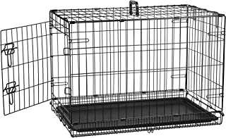 metal dog kennel large