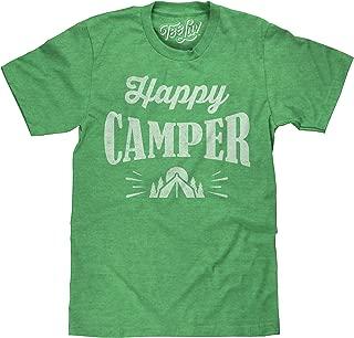Happy Camper T-Shirt - Graphic Camping Shirt