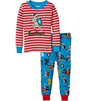Hatley Kids - Good Knight Pajama Set (Toddler/Little Kids/Big Kids)