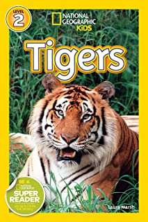 National Geographic Kids Readers: Tigers