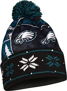 Philadelphia Eagles Exclusive Busy Block Printed Light Up Beanie