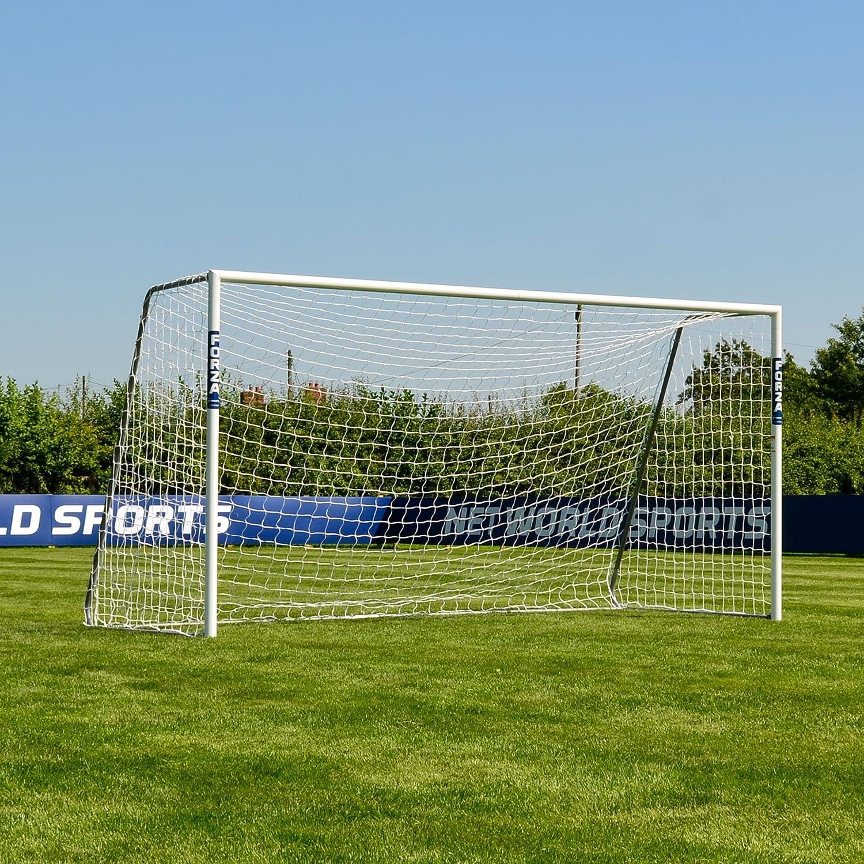 FORZA Alu60 Soccer Goal   Aluminium Soccer Goals for All Ages   Freestanding Metal Soccer Goal   Choose Your Size [Net World Sports]