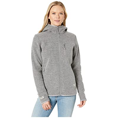 Mountain Hardwear Hatcher Full Zip Hoodie (Manta Grey) Women