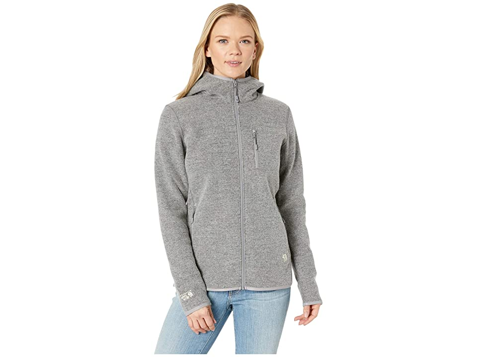 Mountain Hardwear Hatcher Full Zip Hoodie (Manta Grey) Women