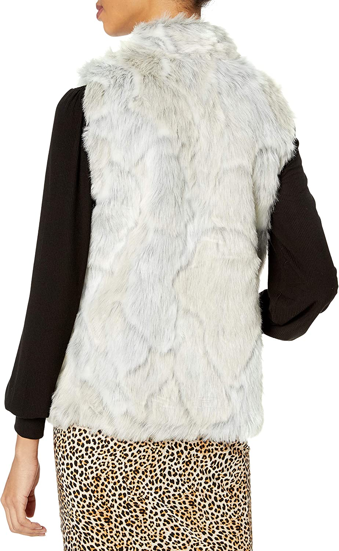 JACK Women's in a Furry Faux Fur Vest