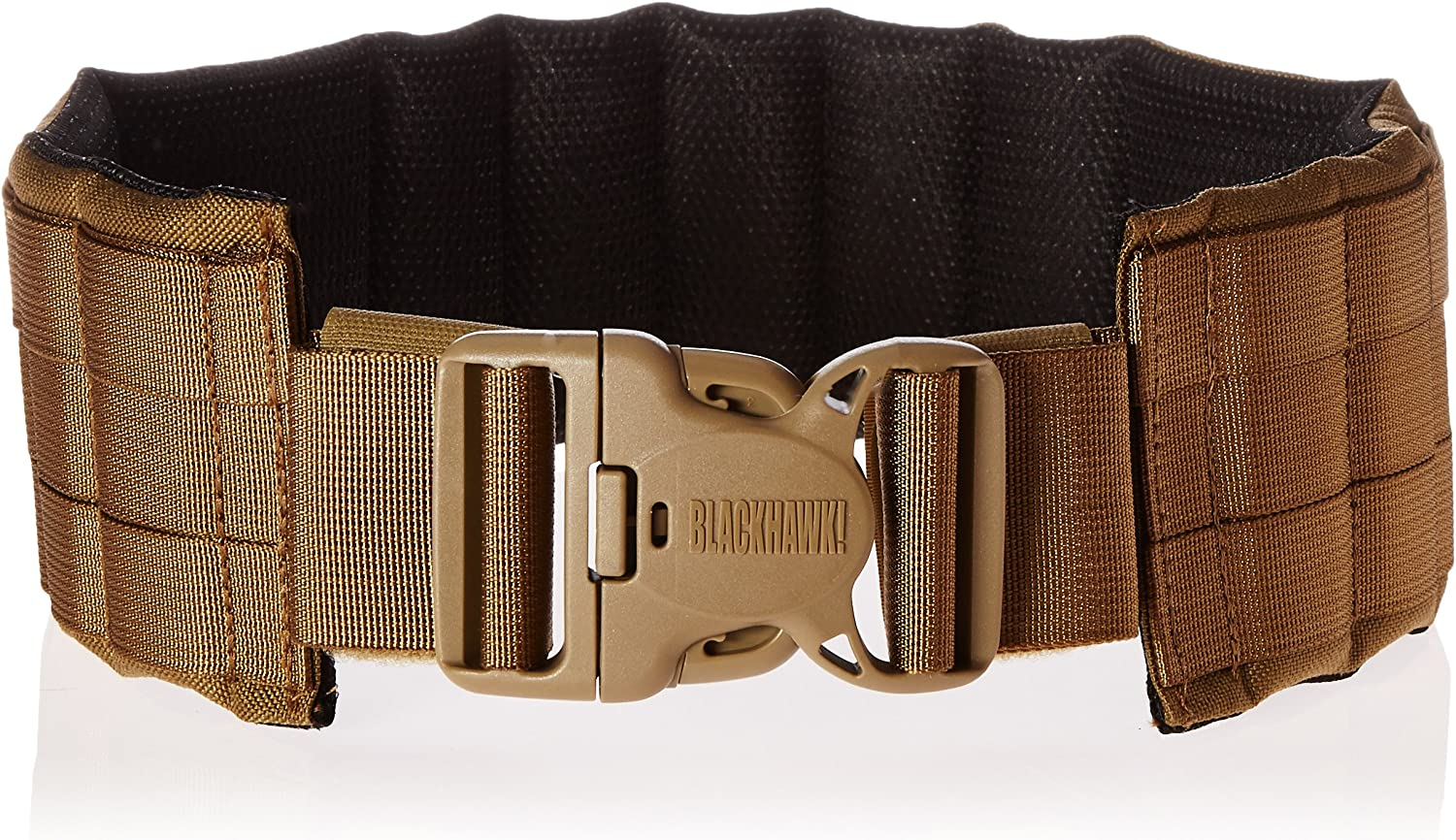 BLACKHAWK  Padded Patrol Belt and Pad  Coyote Tan, Medium
