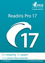 Readiris Pro 17 for Windows - Conversion software [Download]