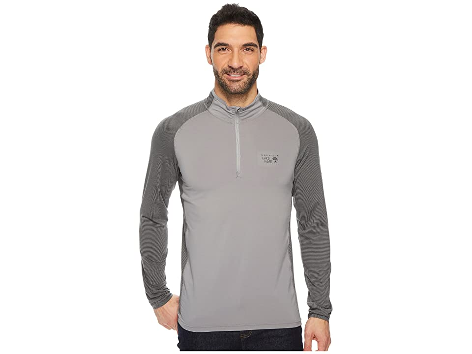 Mountain Hardwear Butterman 1/2 Zip Top (Manta Grey) Men