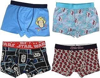 5//6 7//8 Colourful NWT 3//4 Boys 7 Pack Briefs Pants 100/% Cotton Kids Size 2//3
