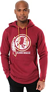 Ultra Game Men's Fleece Hoodie Pullover Sweatshirt Embroidered, Team Color