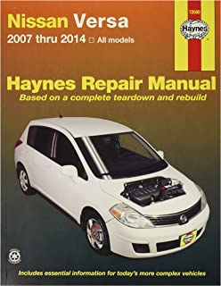 Haynes 72080 Nissan Versa, 07-'14