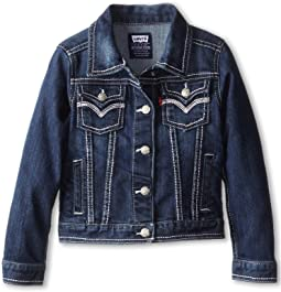 Levi's® Kids - Tanya Thick Stitch Denim Jacket (Big Kids)