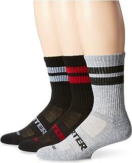 Starter mens 3-pack Mid-calf Striped Crew Socks