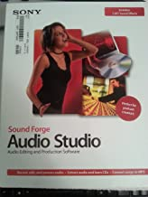 Sony Sound Forge Audio Studio 8.0 Software Audio Editing and Production Software