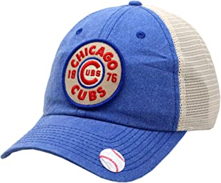 American Needle Chicago Cubs Snapback Trucker Mesh Mayfair Blue/Khaki
