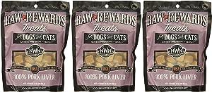 Northwest Naturals Raw Rewards Freeze Dried Pork Liver Treats