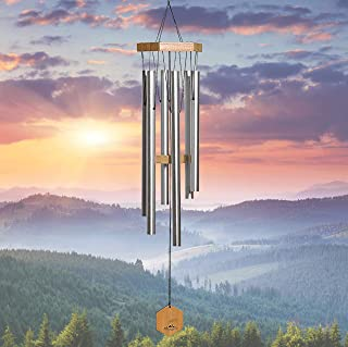 WIND CHIMES FOR PEOPLE WHO LIKE THEIR NEIGHBORS, Soothing Melodic Tones & Solidly..