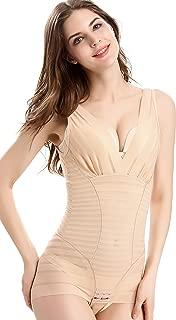 Kffyeye Women's Zebra High Waist Firm Control Slimmer Shapewear Bodysuit, Seamless Tummy Underbust Shapewear for Women