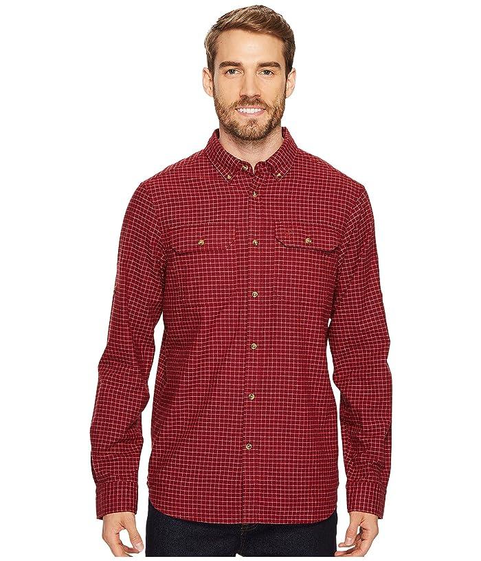 Fjallraven Forest Flannel Shirt (Deep Red) Men