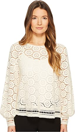 See by Chloe - Crochet Lace Top