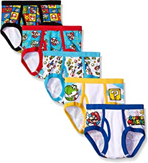 Boys' Mario 5 Pack Briefs