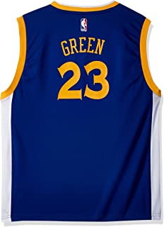 Outerstuff NBA Golden State Warriors-Green Kids Replica Player Jersey-Road, Medium(5-6), Blue