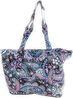 Vera Bradley Packable Tote Haymarket Paisley Travel Bag
