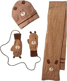 Kidorable Boys' Little Bears Hat Scarf Set