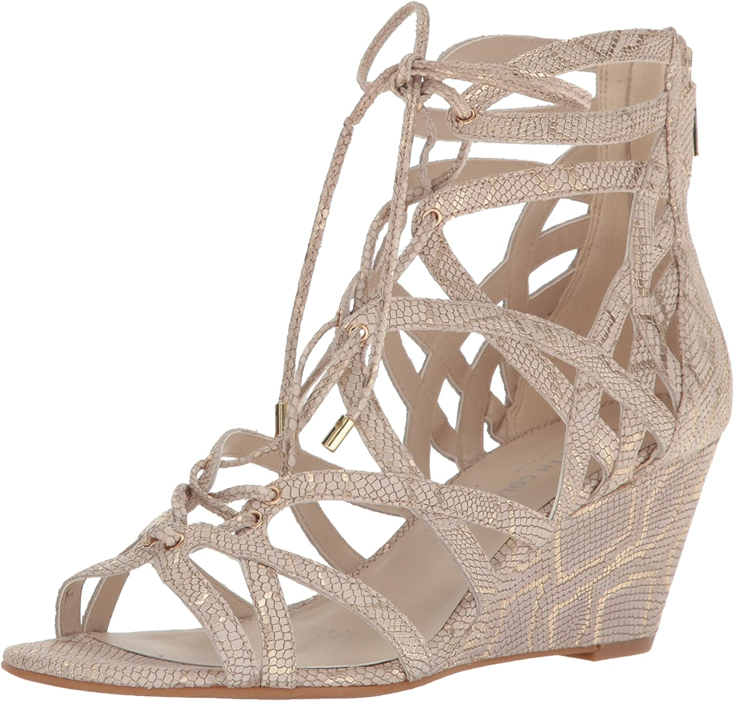 Kenneth Cole New York Womens Dylan Wedge Sandal