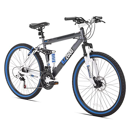 7523b531625 Kent KZ2600 Dual-Suspension Mountain Bike, 26-Inch