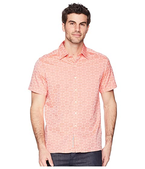 Robert Cullen Shirt Short Squared Graham Sleeve Woven q17qg6Zw