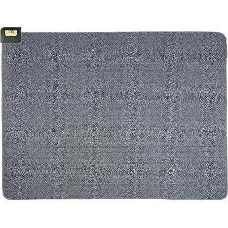 ライフジョイ 日本製 ホットカーペット 1.5畳 グレー 128cm×176cm コンパクト収納 JPU151H