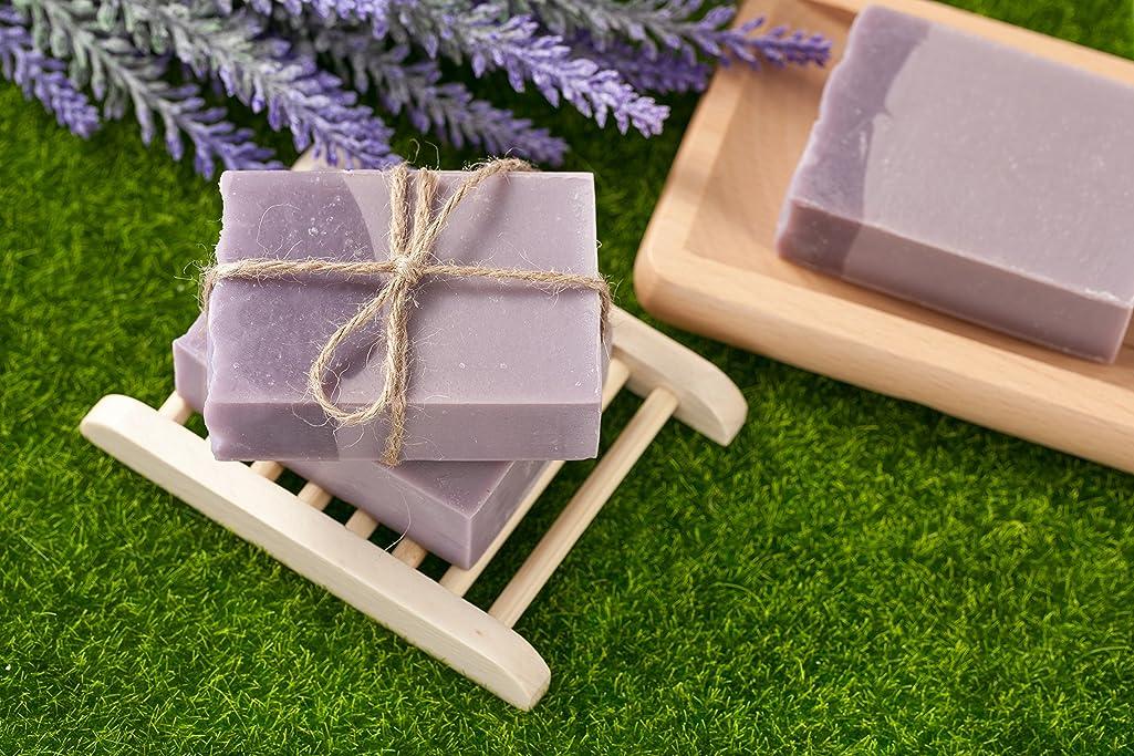 スペイン語ディベートエアコンNative Bliss Organic Goat Soap (Lavender and Geranium)