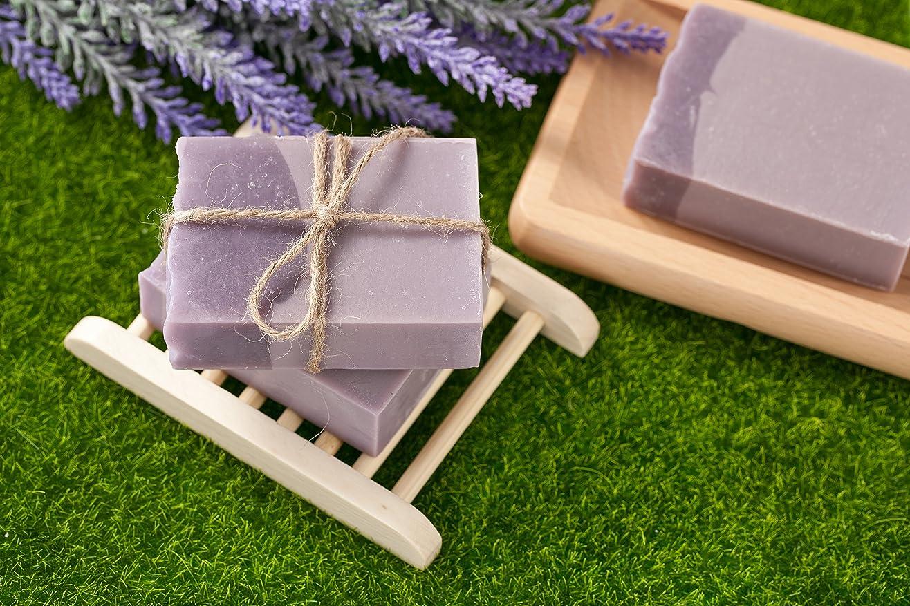 ソース寄付作動するNative Bliss Organic Goat Soap (Lavender and Geranium)