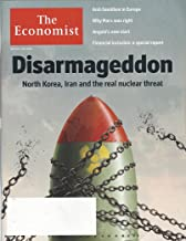 The Economist May 5th - 11th 2018, Vol. 427, N° 9090: Disarmageddon, North Korea, Iran and the real nuclear threat, Anti-Semitism in Europe, Why Marx was right, Financial inclusion, others