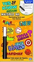 Lee Publications Invisible Ink Yes & Know 8-88