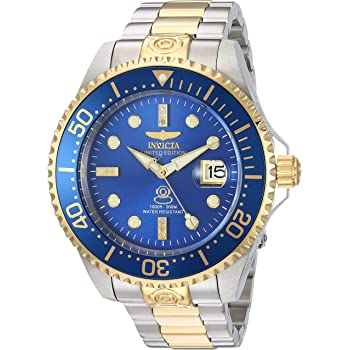 Invicta Men's Pro Diver Automatic-self-Wind Diving Watch with Two-Tone-Stainless-Steel Strap, 22 (Model: 20144)