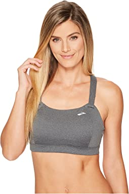 Brooks Juno Cross Back Adjustable High-Impact Sports Bra | Moving Comfort