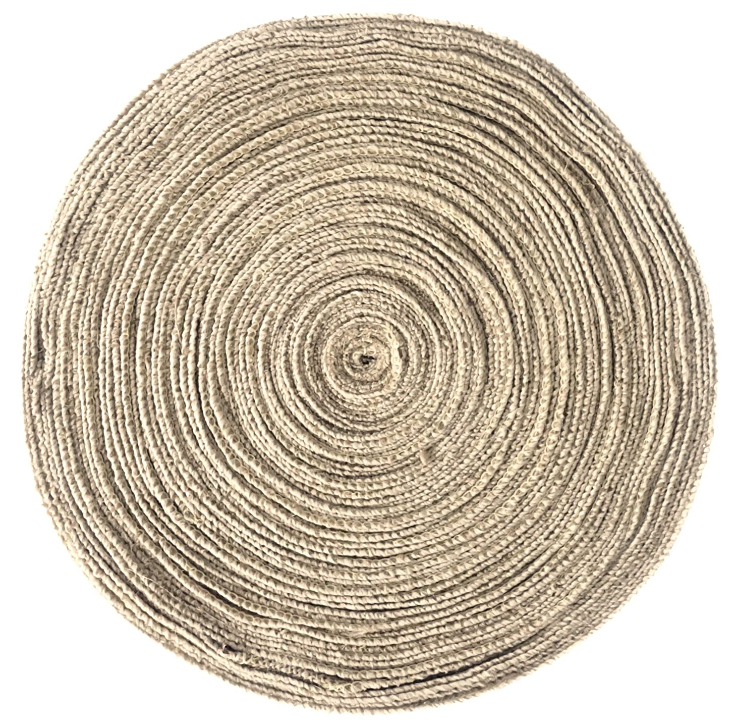 2 Inch Burlap Ribbon by the Roll. 50 Yards Jute Spool by Drency Ribbons
