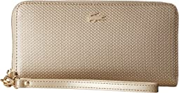 Lacoste - Chantaco Holidays Large Wristlet Zip Wallet